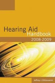 2008-2009 Hearing Aid Handbook by Jeffrey DiGiovanni image