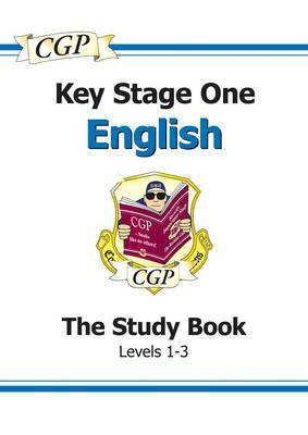 KS1 English SATs Study Book - Levels 1-3 by CGP Books image