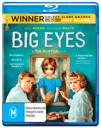 Big Eyes on Blu-ray