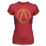 Borderlands The Pre-Sequel Vault Logo Women's T-Shirt (Large)