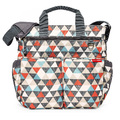 Skip Hop: Duo Signature Nappy Bag - Triangles