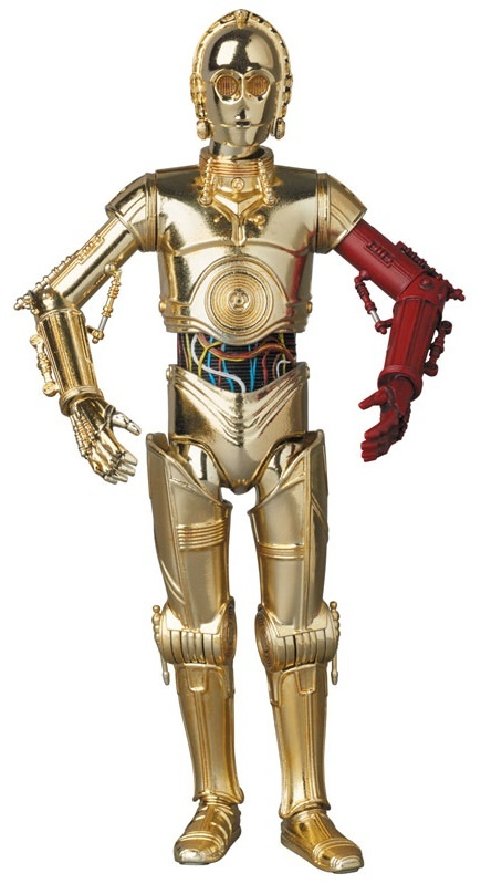 Star Wars - C-3PO & BB-8 - MAFEX Action Figure image