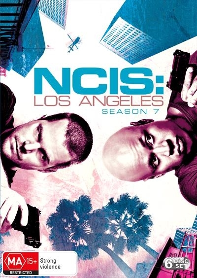 NCIS Los Angeles - Season 7 on DVD image
