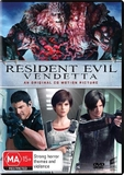 Resident Evil: Vendetta on DVD