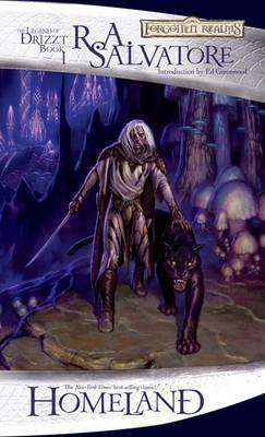 Forgotten Realms: Homeland (Legend of Drizzt #1) by R.A. Salvatore image