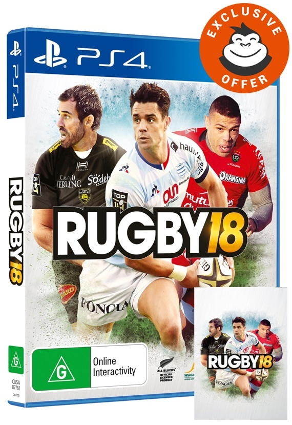 Rugby 18 for PS4 image