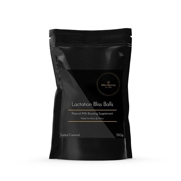 Milky Mumma Lactation Support Bliss Balls - Salted Caramel (350g)