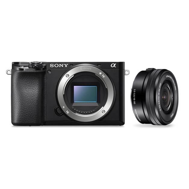 Sony Alpha A6100 24.2MP APS-C ILC E-Mount w/ 16-50mm
