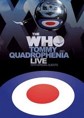 The Who - Quadrophenia And Tommy Live With Special Guests (3 Disc Set) on DVD