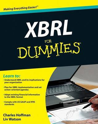 XBRL For Dummies by Charles Hoffman image