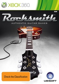 Rocksmith (includes Real Tone cable) for Xbox 360