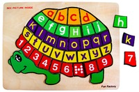 Fun Factory: Turtle Number & Letter Puzzle