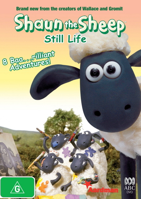 Shaun The Sheep - Still Life on DVD