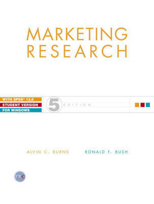 Marketing Research: Online Research Applications by Alvin C. Burns