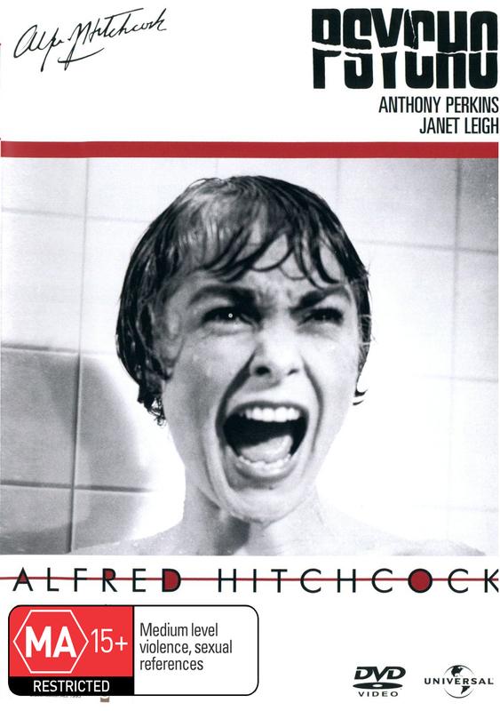 Psycho (1960) on DVD