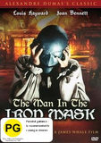 The Man in the Iron Mask DVD