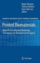 Printed Biomaterials image