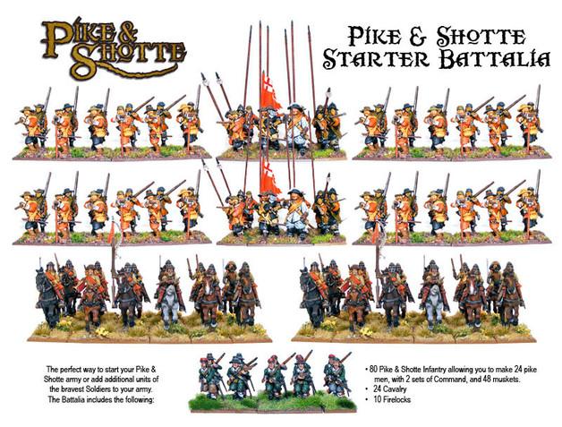 Pike & Shotte Battalia Starter Army Box