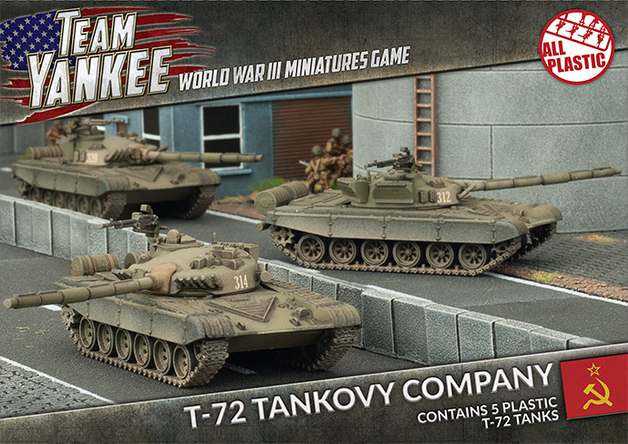 Flames of War: T-72 Tankovy Company
