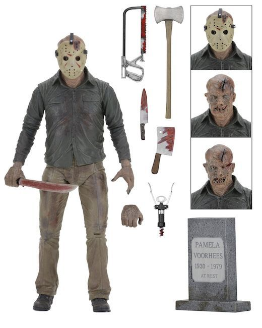 """Friday the 13th - 7"""" Jason (The Final Chapter Ver.) - Action Figure image"""