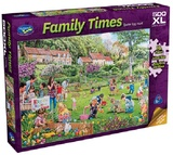 Holdson: 500pce Family Times XL Puzzle (Easter Egg Hunt)