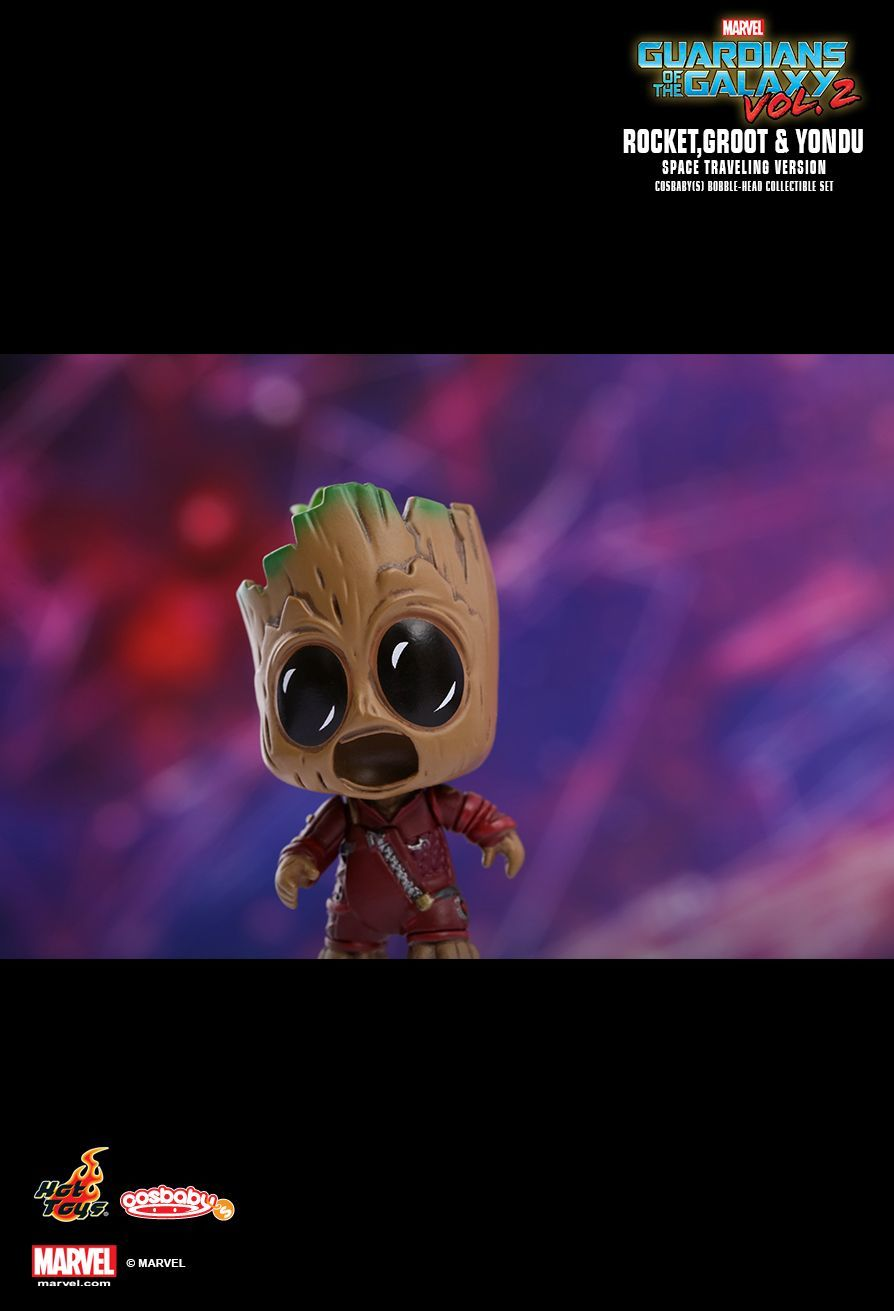 Guardians of the Galaxy: Vol. 2 - Space Travelling Cosbaby Set image