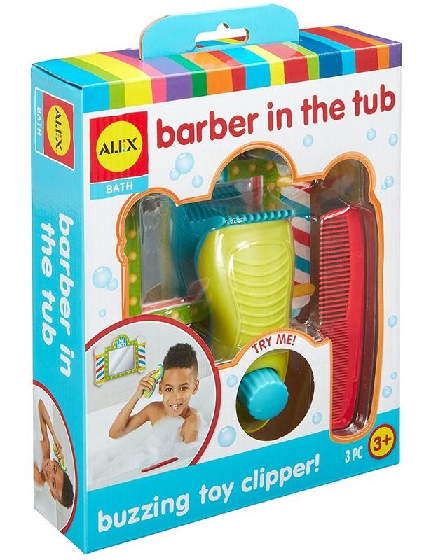 Alex: Bath Barber in the Tub
