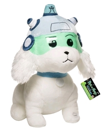 Rick and Morty: Snowball Plush with Sound