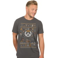 Overwatch Holiday Sweater For the Heroes Premium Tee (Large)