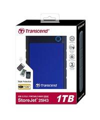 Transcend: StoreJet 25H3 1TB External Hard Disk - Navy Blue image