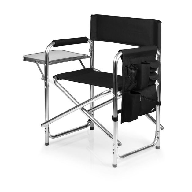 Portable Folding Sports Chair - Black