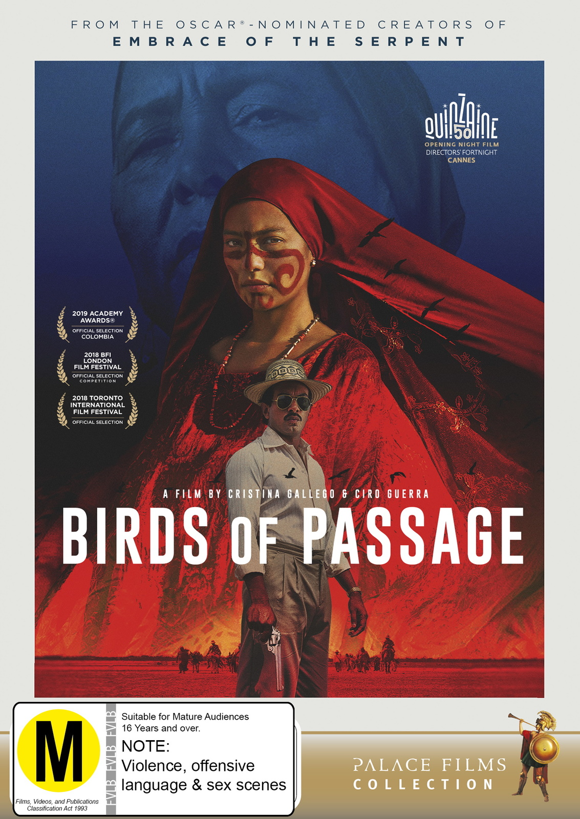 Birds of Passage on DVD image