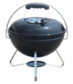 Portable Charcoal Kettle BBQ Grill