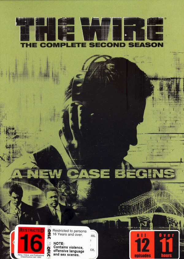 The Wire - The Complete 2nd Season on DVD image