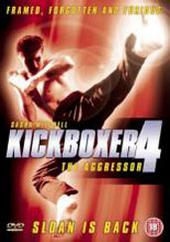 Kickboxer 4 - The Aggressor on DVD