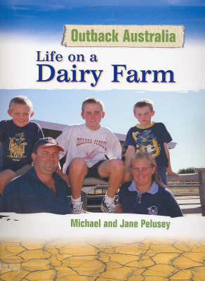 Life on a Dairy Farm -Oa by Pelusey