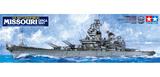 Tamiya U.S. Battleship BB-63 Missouri 1991 1/350 Ship Model Kit