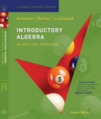 Introductory Algebra: An Applied Approach by Joanne S Lockwood