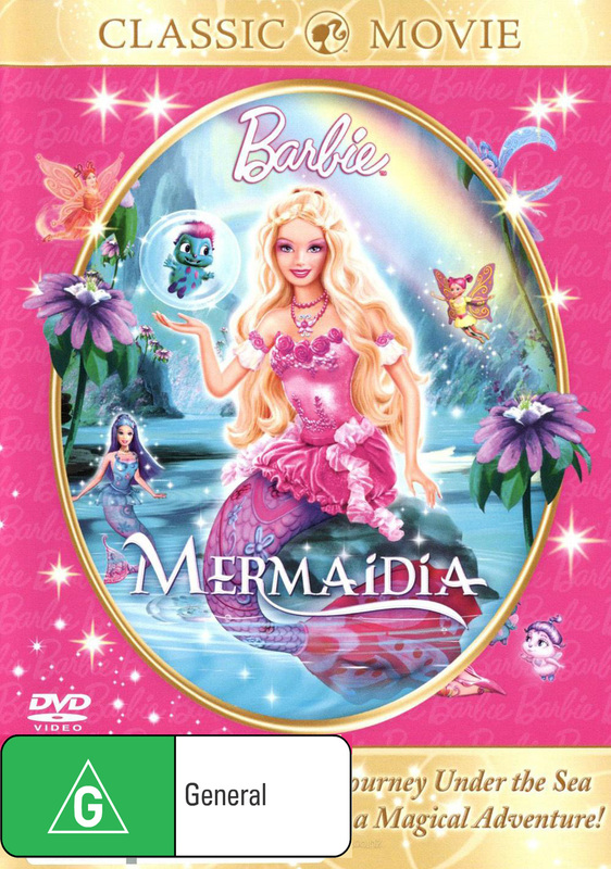 Barbie: Mermaidia on DVD