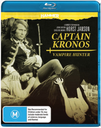 Hammer Horror: Captain Kronos Vampire Hunter on Blu-ray
