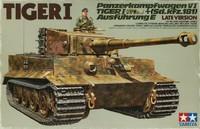 Tamiya: 1/35 German Heavy Tank Tiger I (Late Ver.) - Model Kit