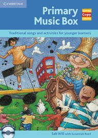 Primary Music Box with Audio CD: Traditional Songs and Activities for Younger Learners by Sab Will image