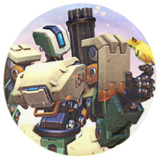 Overwatch Bastion Button