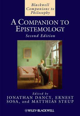 A Companion to Epistemology image