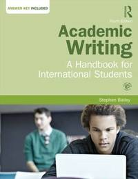 Academic Writing by Stephen Bailey image