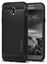 Spigen Galaxy J3 Pro Rugged Armor Case Black
