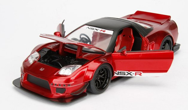Jada 1/32 Jdm NSX R 2002 (Red) - Diecast Model