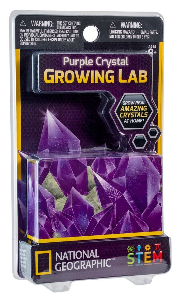 National Geographic: Mini Crystal Growing Lab - Purple image
