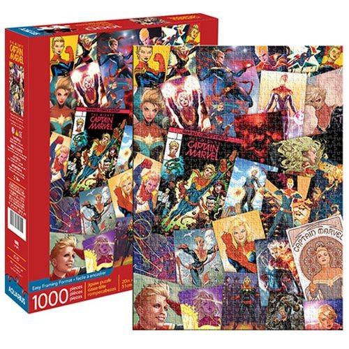 Marvel: 1,000 Piece Puzzle - Captain Marvel Collage