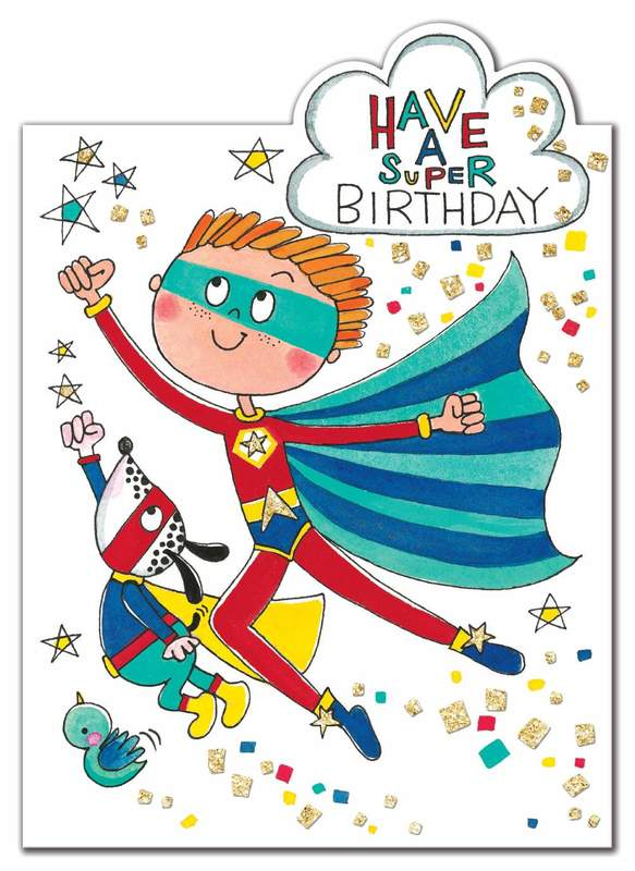 Rachel Ellen: Super Birthday Hero Card